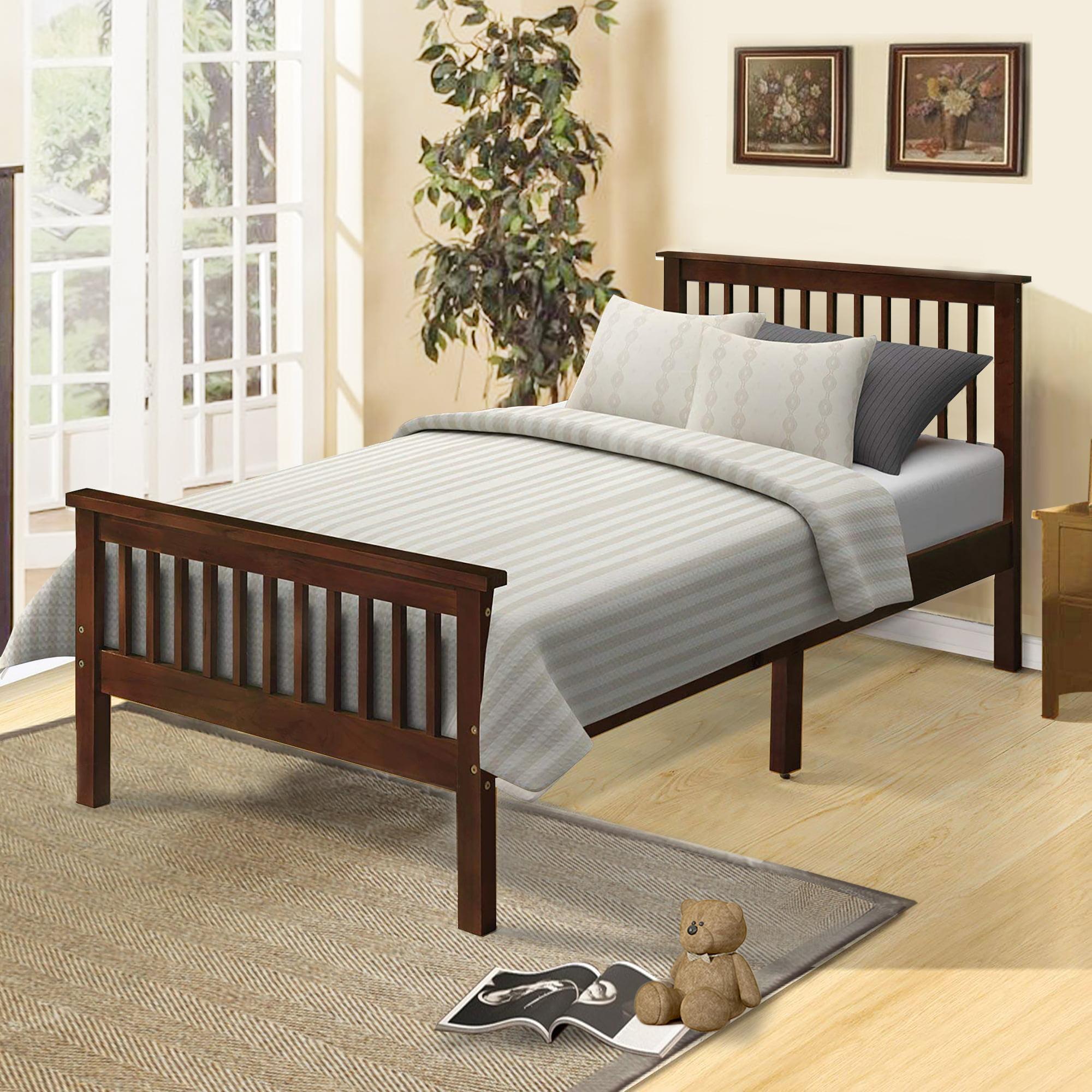 Clearance! Twin Bed Frames for Kids, Heavy Duty Wood Twin ...