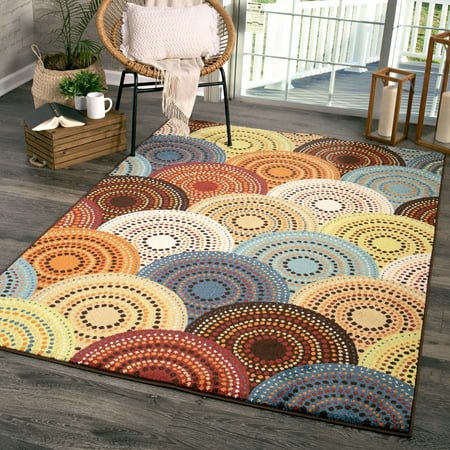 New Home Polka Dot Rug (Better Homes and Gardens Bright Dotted Circles Area Rug or)