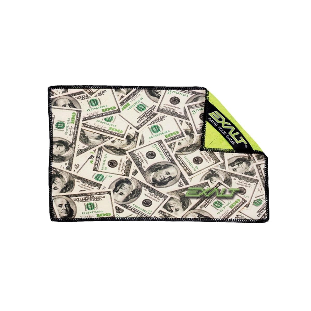 Exalt Paintball Microfiber Goggle Cloth Player Size Cash Money by Exalt