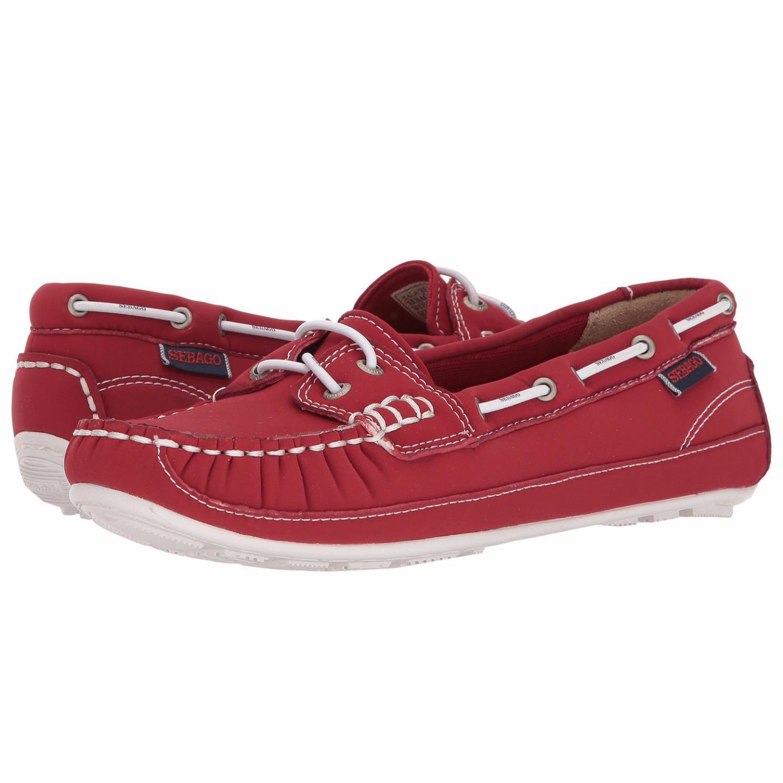 Sebago® Women/'s  Bala Boat Shoe Red Ariaprene 6.5 M