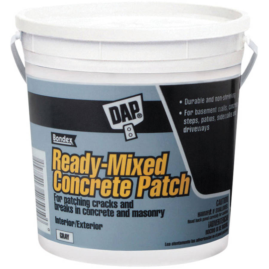 Dap 31090 1 Gallon Concrete Patcher Interior & Exterior