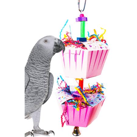 Bonka Bird Toys 1082 Duo Happy Birthday Bird Toy.