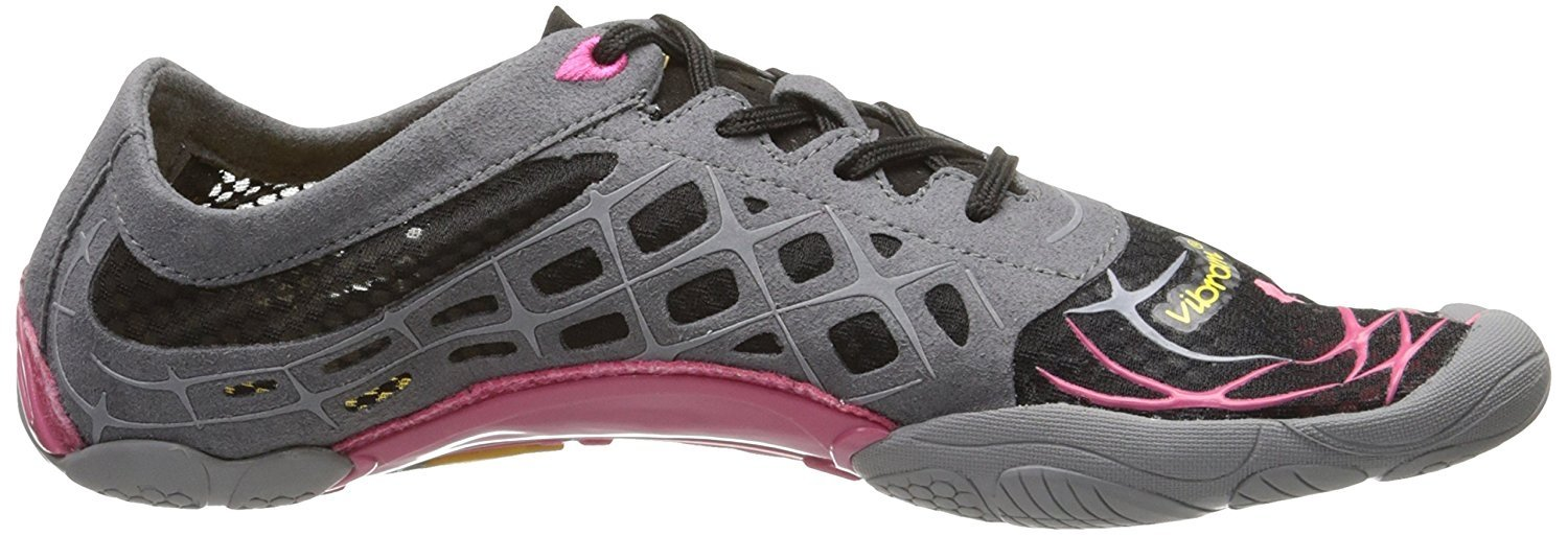 New Vibram FiveFingers Shoes Womens 37 Seeya LS Black/Rose/Grey 13W3808