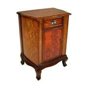 Cheung's FP-2369 Wooden 1 Drawer 1 Door Cabinet Nightstand
