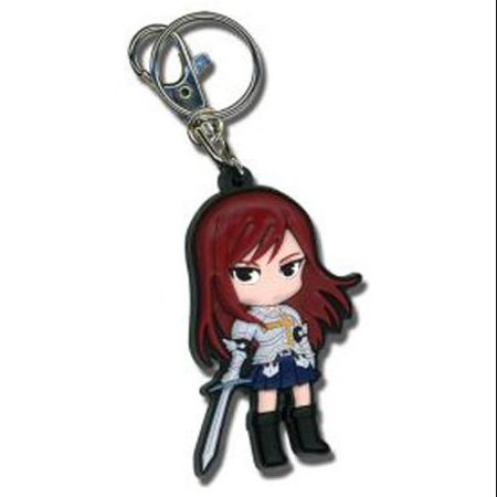 Key Chain - Fairy Tail - New Erza Toys Gifts PVC Anime Licensed ge5101