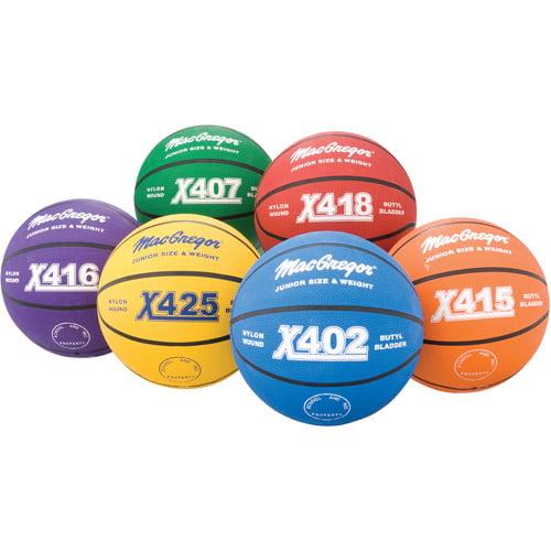 Multi-Color Basketball Intermediate 6-Piece Prism Pack