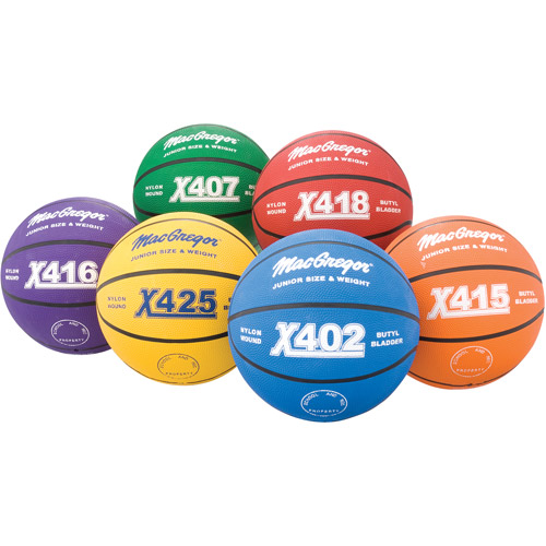 Multi-Color Basketball Intermediate 6-Piece Prism Pack