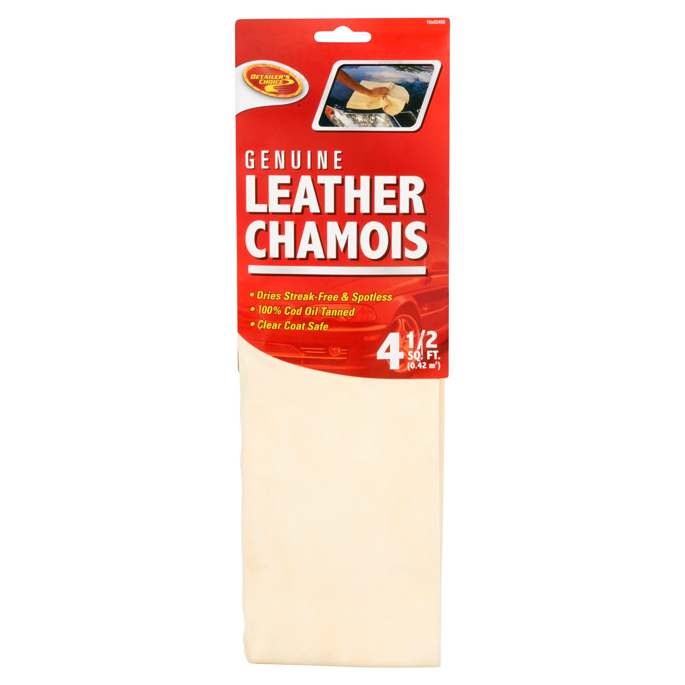 Chamois 100/% Leather size Medium dry car cleaner