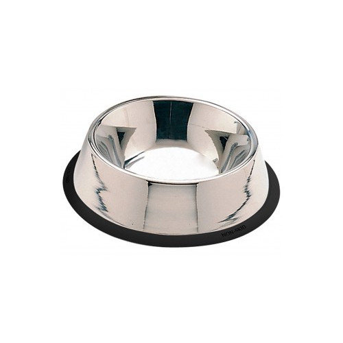Stainless Steel No Tip Dog Dish