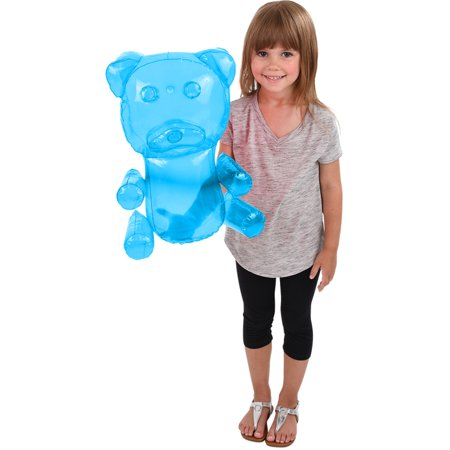 Delicious Candy Large Blue Gummy Bear Animal Inflatable 18