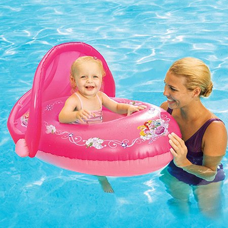 Swimways sun canopy baby float princess for Princess float ideas