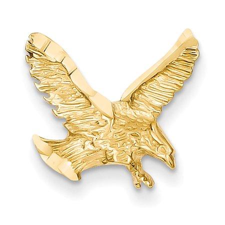 14K Yellow Gold Eagle Landing Chain Slide (The Landing Stores)