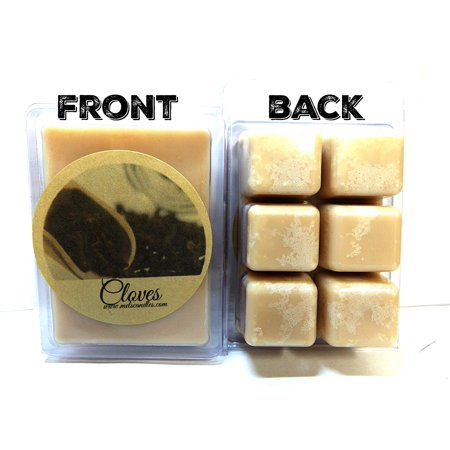 Cloves - 3.2 Ounce Pack of Soy Wax Tarts - Scent Brick -Wickless Candle Tart Warmer Wax