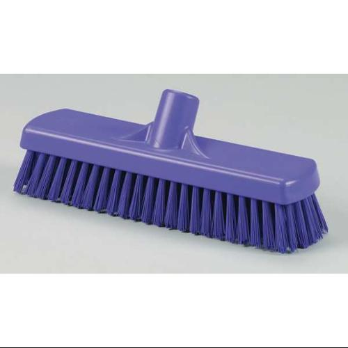 VIKAN 70608 Deck Scrub Head, Stiff, 3 x 12 In, Purple