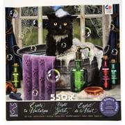 CEACO COMPANY Cat In Bath Night Spirit 550 Piece Puzzle