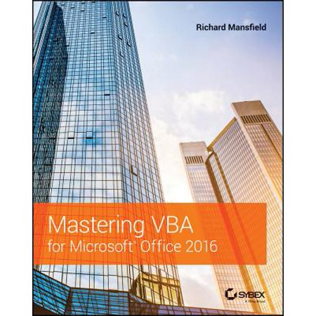 Mastering VBA for Microsoft Office 2016 (Cheapest Way To Get Microsoft Office 2016)