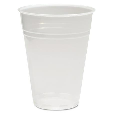 Boardwalk Translucent Plastic Hot/Cold Cups, 9 oz, 2500 count -BWKTRANSCUP9CT](9 Oz Plastic Cups)