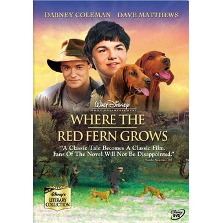Where the Red Fern Grows (DVD) - Red Oitnb