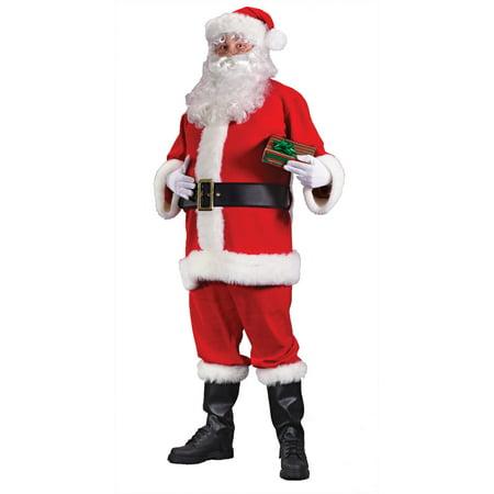 Santa Economy Adult Suit - Santa Business Suit