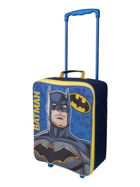 "Batman 17"" Softside Kids' Carry-on Pilot Case Luggage"