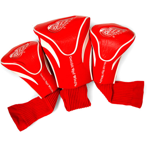 Team Golf NHL Detroit Red Wings 3 Pack Contour Head Covers