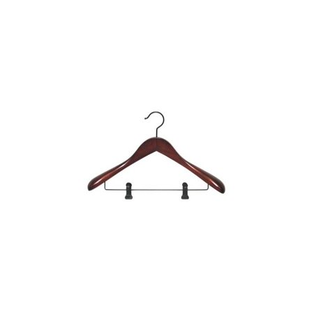 Taurus Suit Hanger w Clips - Set of 12