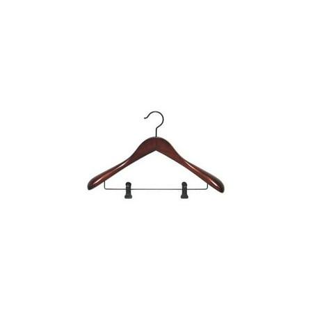 Taurus Suit Hanger w Clips - Set of 12