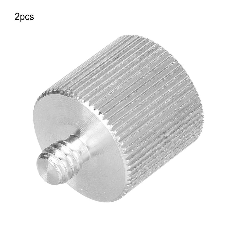 Details about  /2 PCs 1//4 To 5//8 Leveling Bracket Screw Universal Aluminum Alloy Bracket Screw