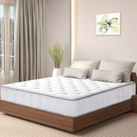 GranRest 10-in Milkway Tight Top Pocket Spring Hybrid Mattress