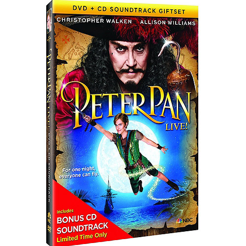Peter Pan Live! (With CD Soundtrack) (Walmart Exclusive) (Widescreen)