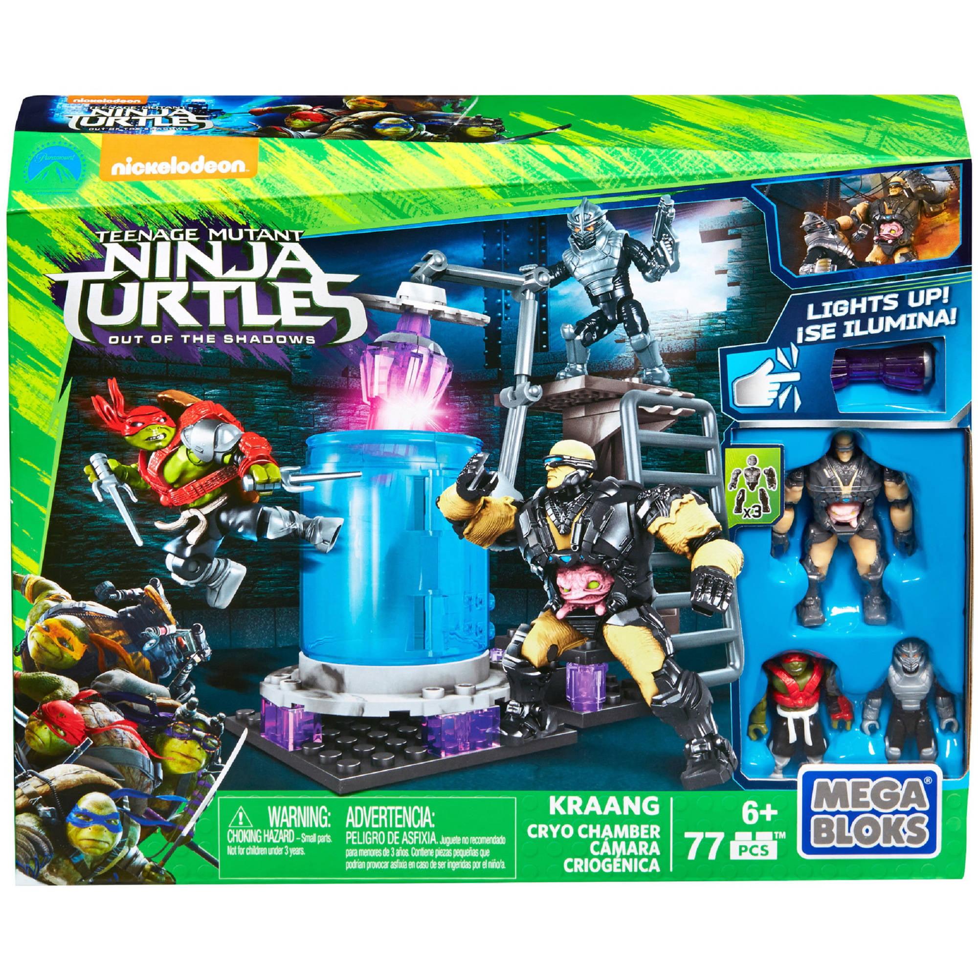 Mega Bloks Teenage Mutant Ninja Turtles Kraang Cryo Chamber DRK00
