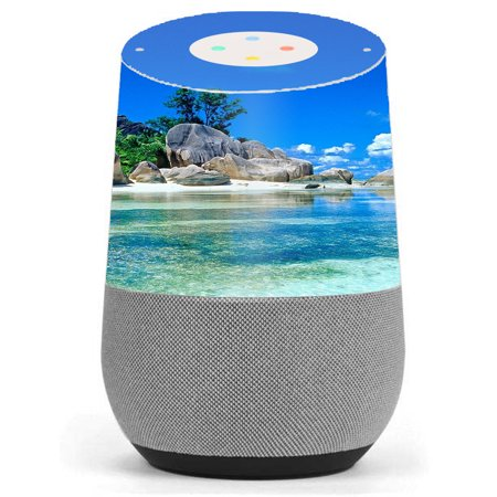 Skin Decal Vinyl Wrap For Google Home Stickers Skins Cover/ Island Paradise (Island Wrap)
