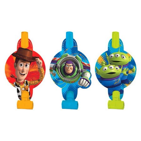 Toy Story Power Up Party Blowouts [8 per Pack] for $<!---->