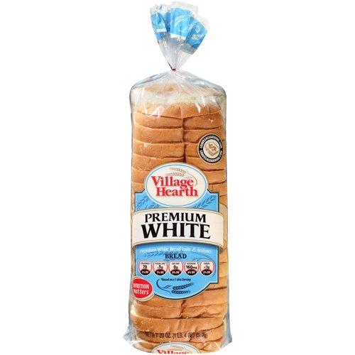 Village Hearth Premium White Bread, 20 oz