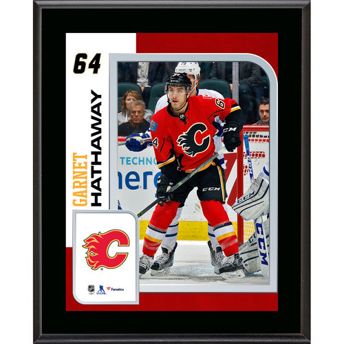 """Garnet Hathaway Calgary Flames 10.5"""" x 13"""" Sublimated Player Plaque - No Size"""