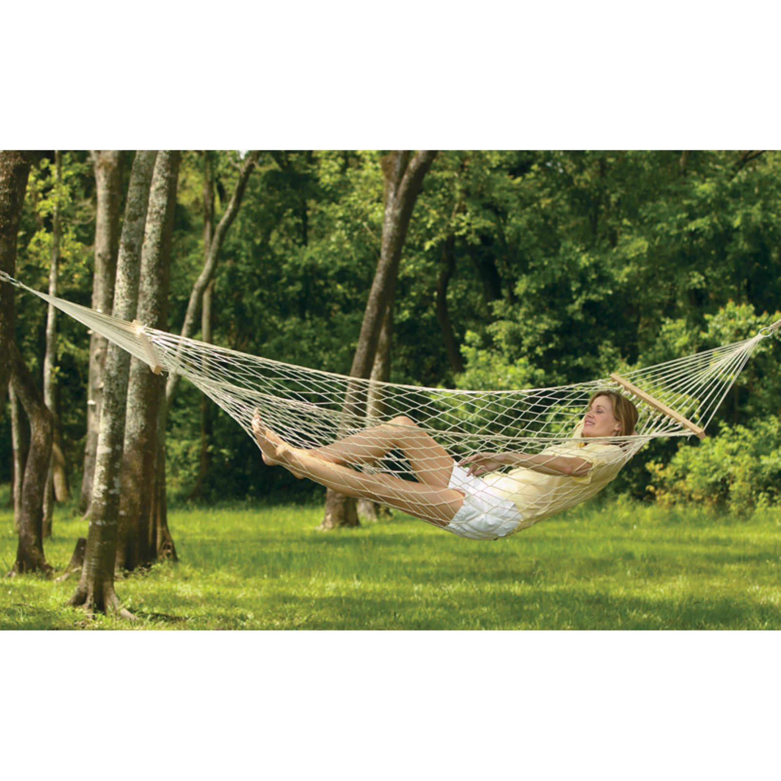 Texsport Padre Island Cotton Rope Single Hammock