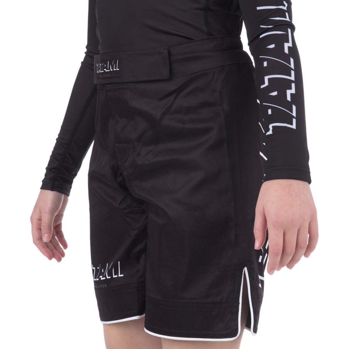 Black Tatami Fightwear Kids Shadow No Gi Shorts