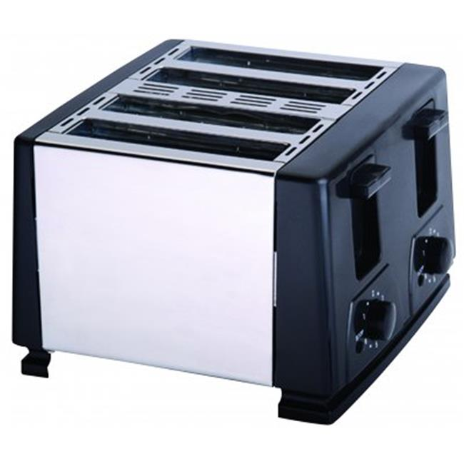 4 Slice Toaster - Black