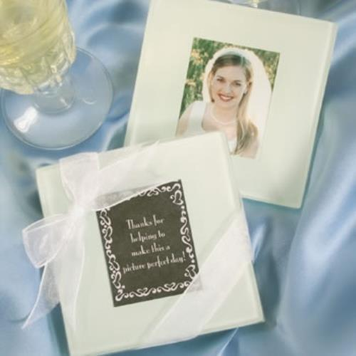 Glass Photo Coasters  pack of 30