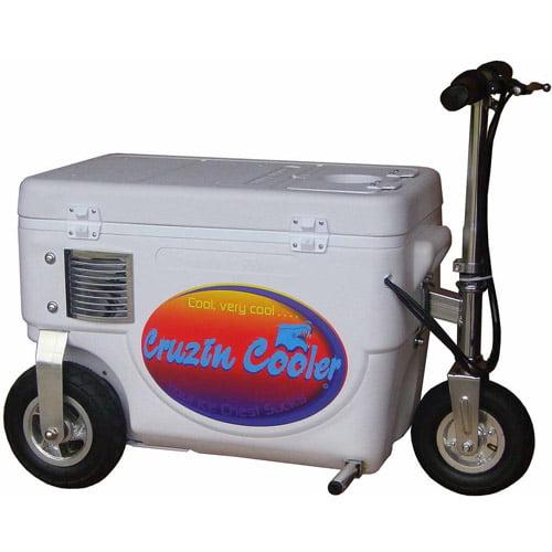 Cruzin Cooler 1000W Scooter, White