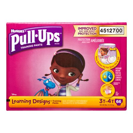 huggies pull ups training pants w learning designs for girls 3t 4t