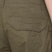 96a5d1a011 bossini Selection Mens Solid Cargo Shorts 34, Waist 36