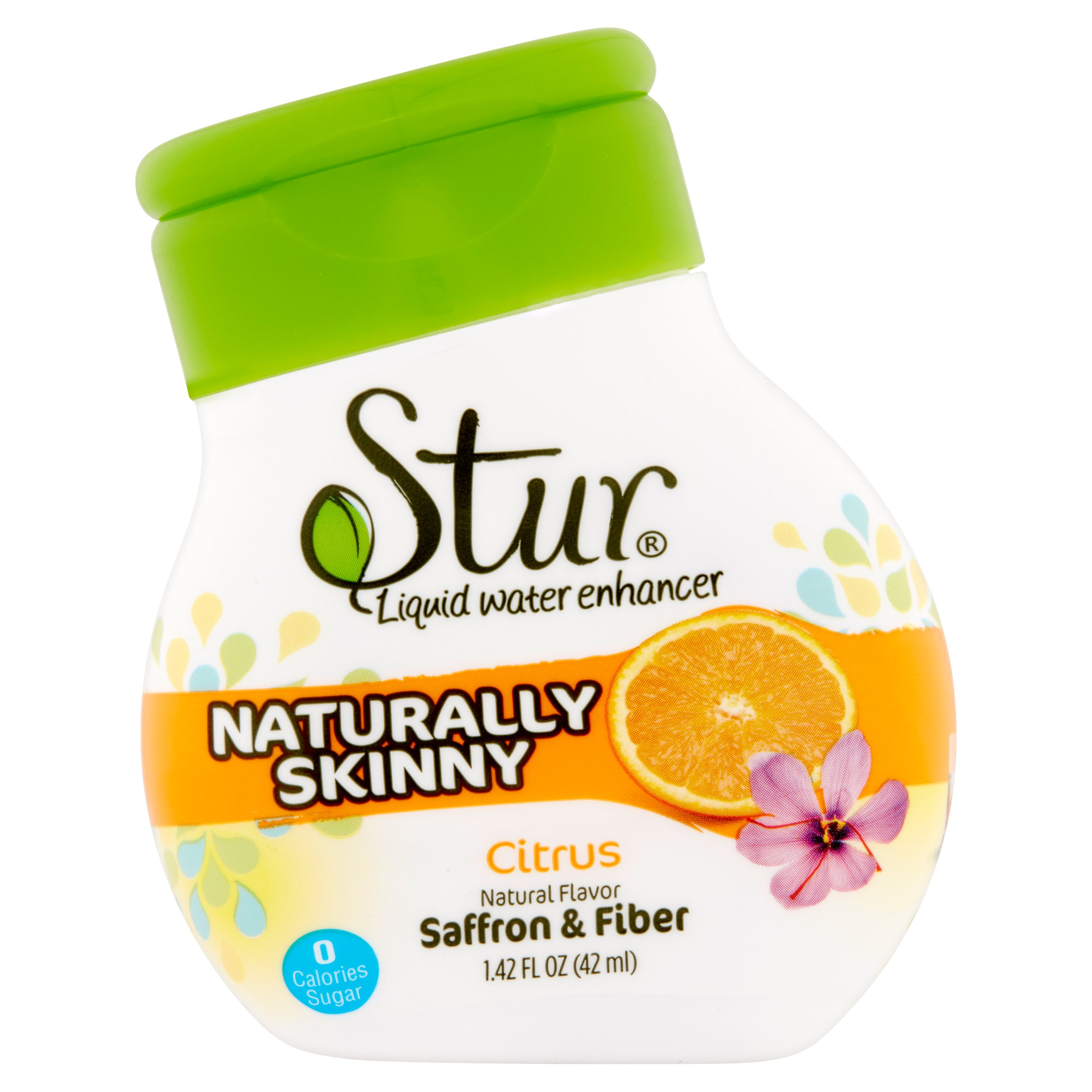 Stur Naturally Skinny Citrus Liquid Water Enhancer, 1.42 fl oz, 6 pack by Dyla LLC
