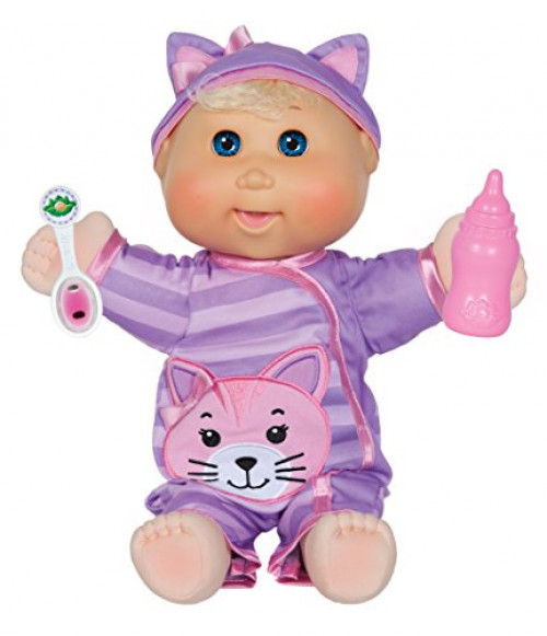 Cabbage Patch Kids Baby So Real, Blonde Girl by WICKED COOL TOYS, LLC