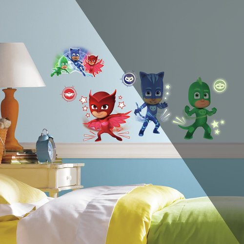 PJ Masks Peel & Stick Wall Decals
