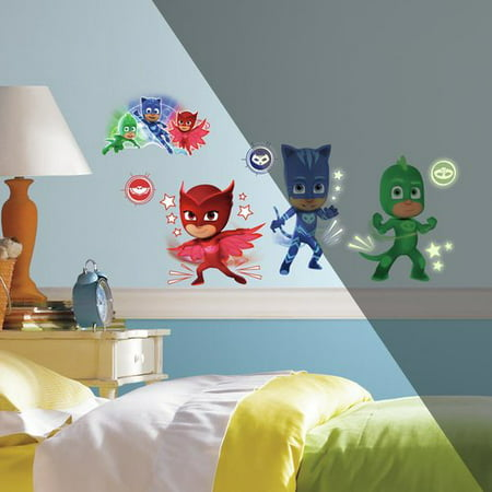 PJ Masks Peel & Stick Wall Decals - Tmnt Wall Decals