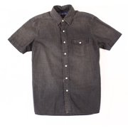 Polo Ralph Lauren NEW Black Mens Size Medium M Denim Button Down Shirt