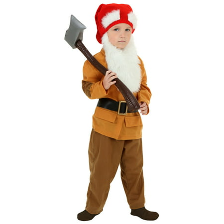 Toddler Brown Dwarf Costume - Gandalf The Grey Costume