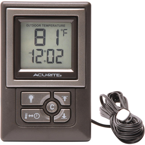 Acu-Rite Indoor/Outdoor  Thermometer 00891