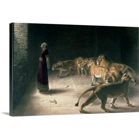 Great BIG Canvas Briton (1840-1920) Riviere Premium Thick-Wrap Canvas entitled Daniel in the Lions Den, - Lions Den Coupons